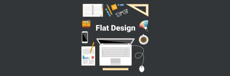 Flat design w 2016 - jakie będą panować trendy?