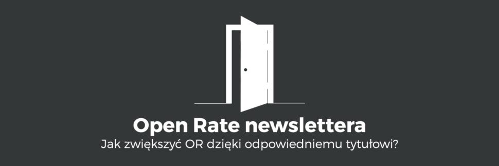 Tytuł maila metodą na większy open rate newslettera