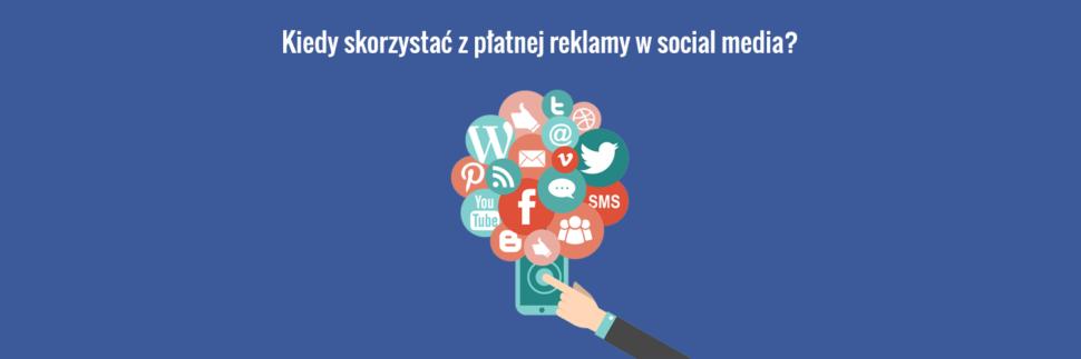 Płatna reklama strony internetowej w social media