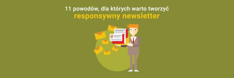 Responsywny newsletter