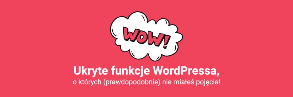 Ukryte funkcje WordPress