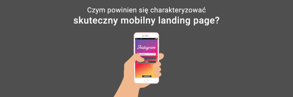 Skuteczny mobilny landing page