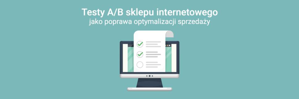 Testy A/B sklepu internetowego