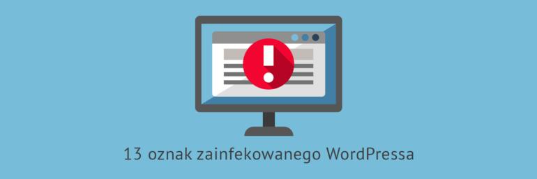 Zhakowany WordPress