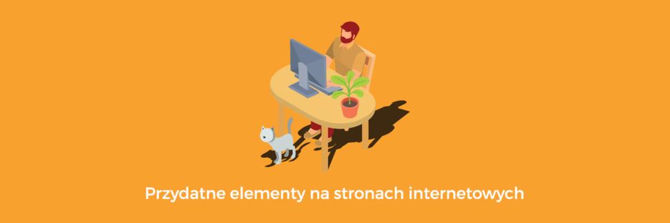 Przydatne elementy na stronach internetowych