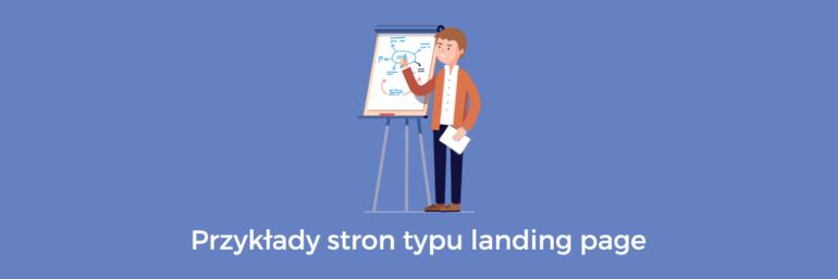 Przykłady landing page wraz z analizą