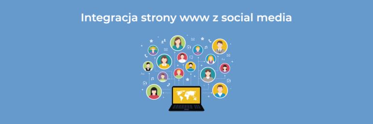 Integracja strony internetowej z mediami społecznościowymi