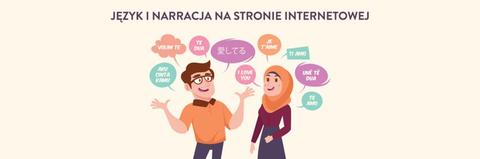 Język i narracja na stronie internetowej