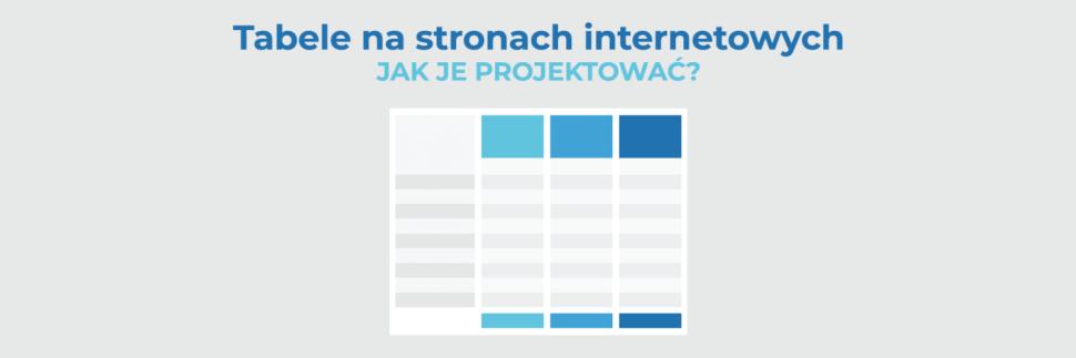 Tabele na stronach internetowych