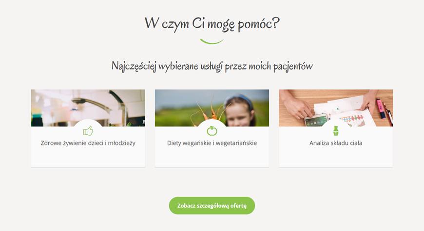 Harmonogram Zdrowia strona internetowa #2