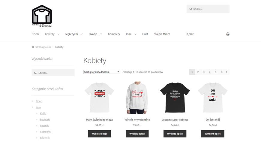 Koszulki z Garażu sklep internetowy #1