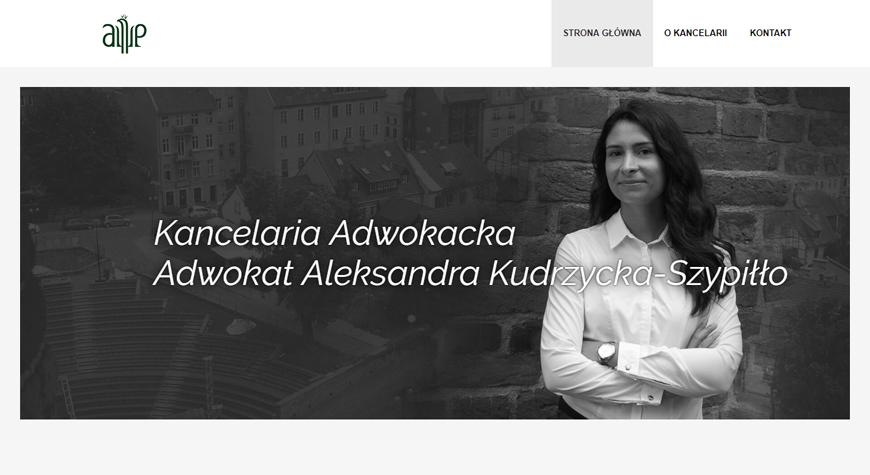 Kancelaria adwokacka Aleksandra Kudrzycka strona internetowa #1