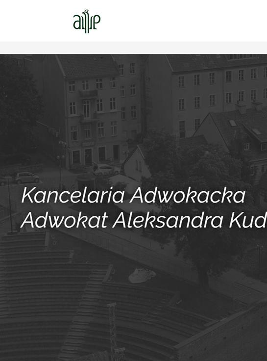 Kancelaria adwokacka Aleksandra Kudrzycka