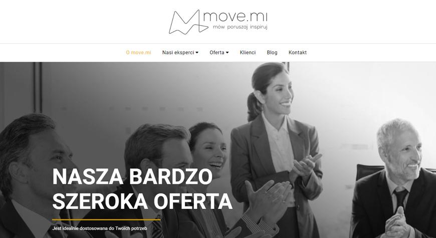 move.mi strona internetowa #1