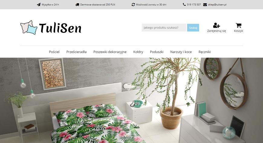 TuliSen sklep internetowy #1