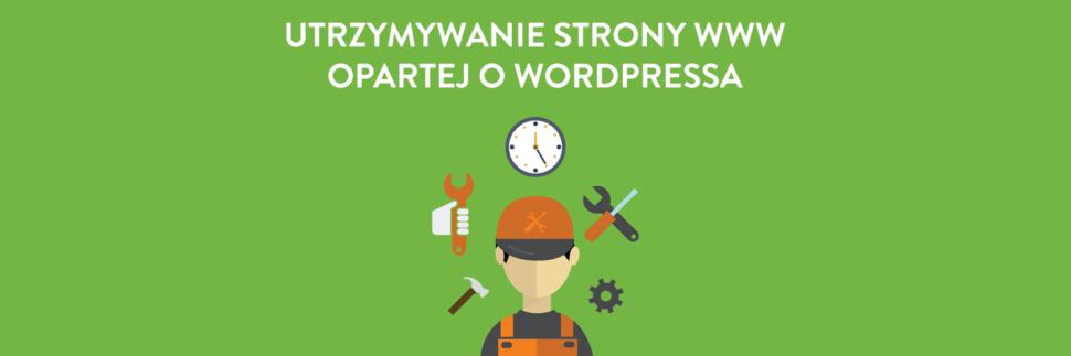 Utrzymywanie strony internetowej opartej o WordPressa