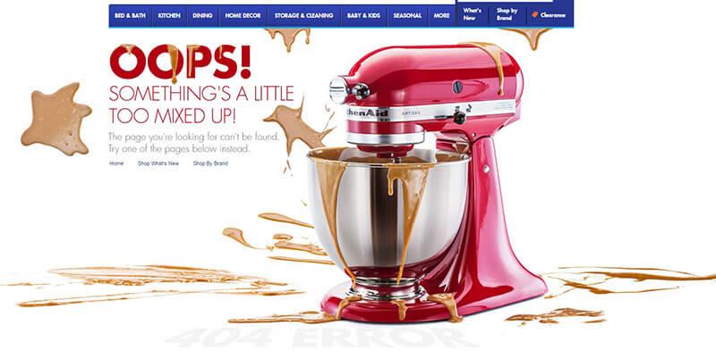 Błąd 404 - UX sklepu internetowego