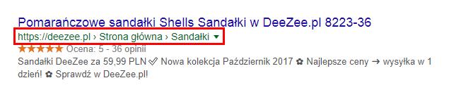 Okruszki - breadcrumbs