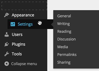Drag and drop - wtyczka do reorganizacji menu w panelu admina