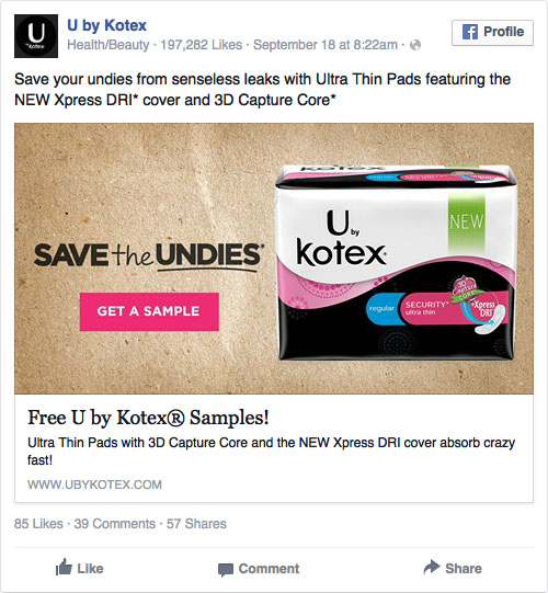 Reklama na Facebooku i call to action