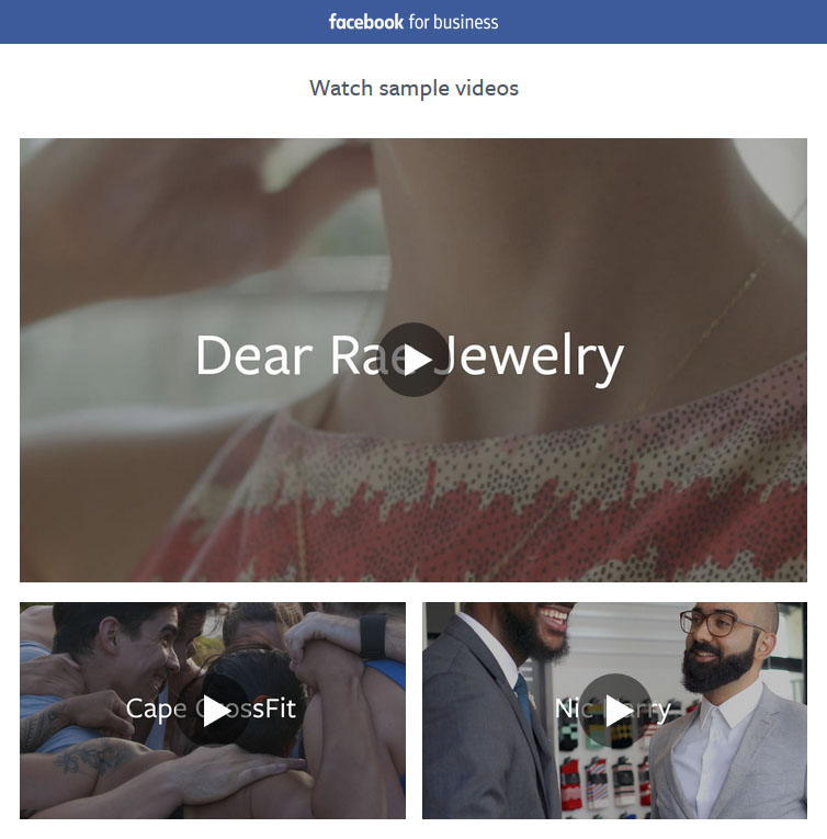 Reklama Facebook for Business