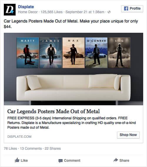 Emocje w reklamie na Facebooku