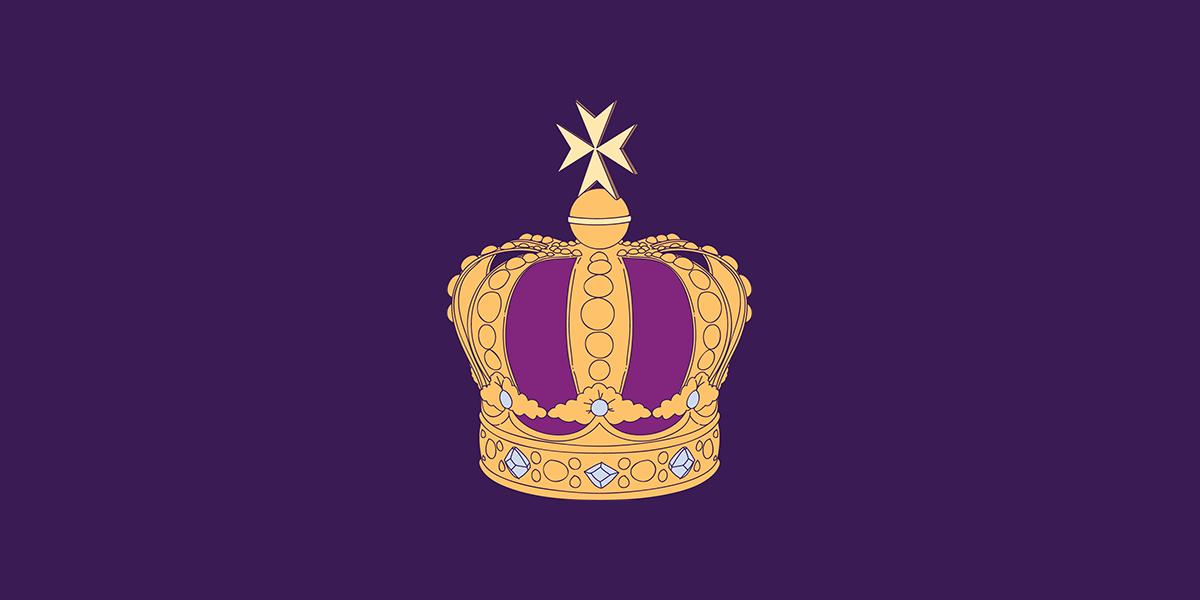 Fioletowa korona