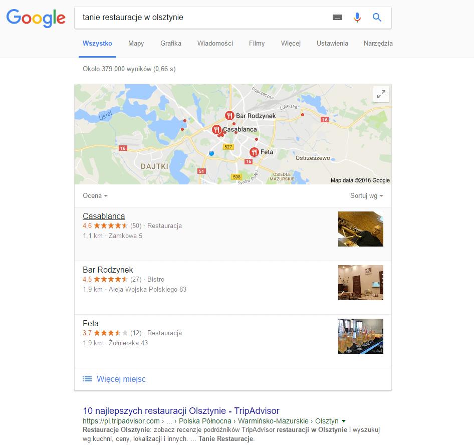 Przetwarzanie języka naturalnego w Google
