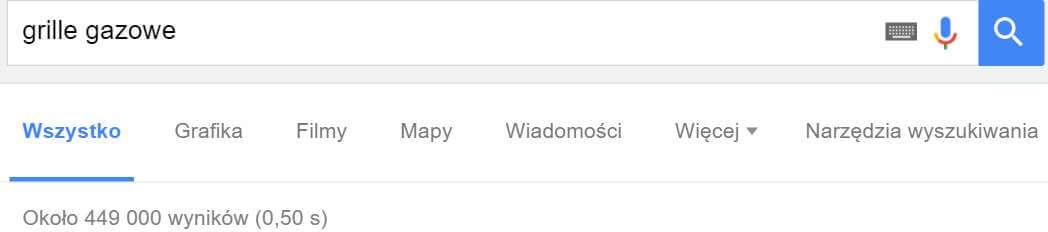 Ilość wyników wyszukiwania