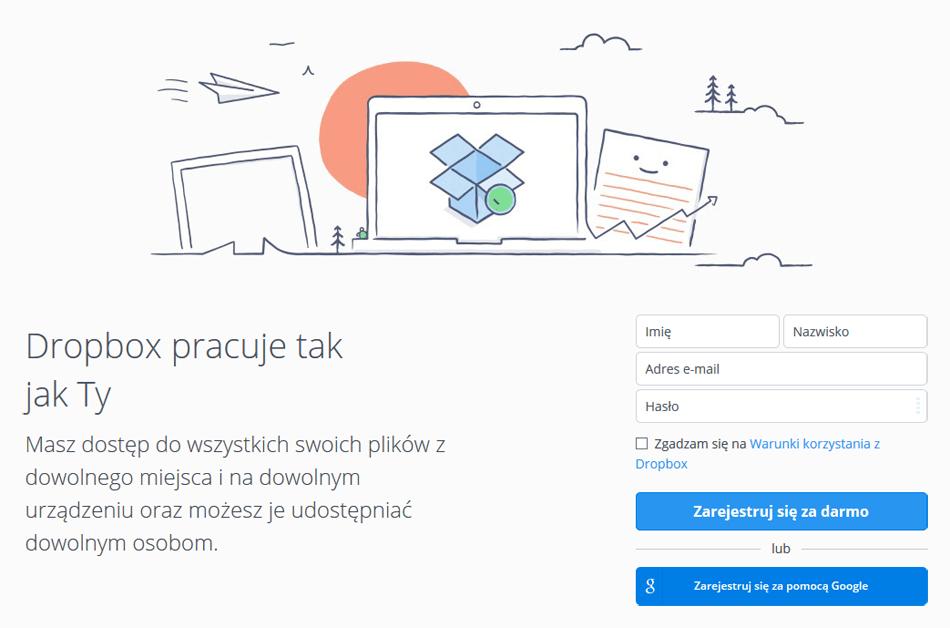 Jak działa Dropbox?