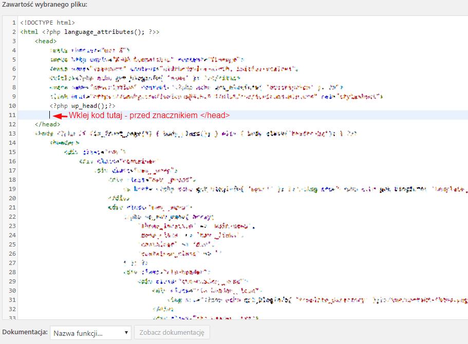 Jak korzystać z Analytics? - kod