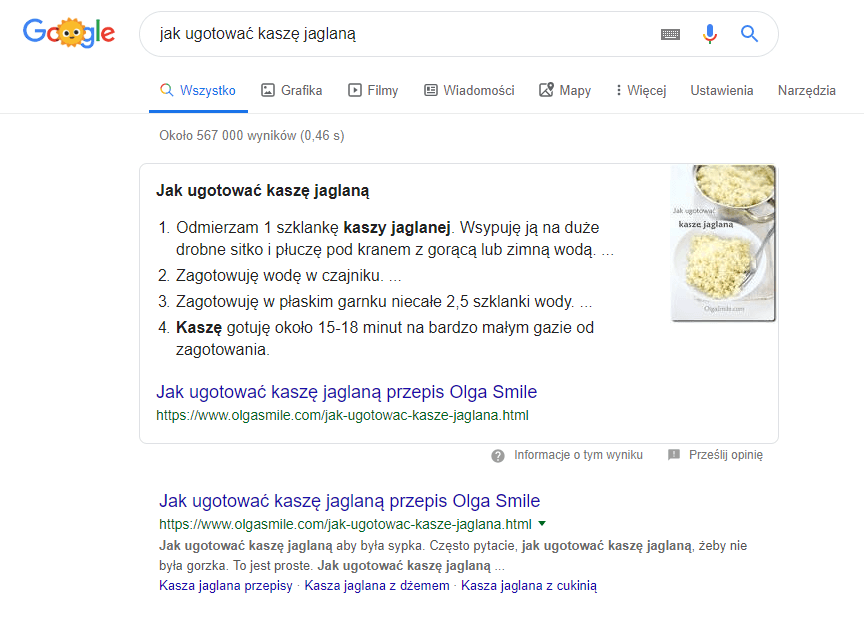 kk Star Ratings - wyniki zero w Google