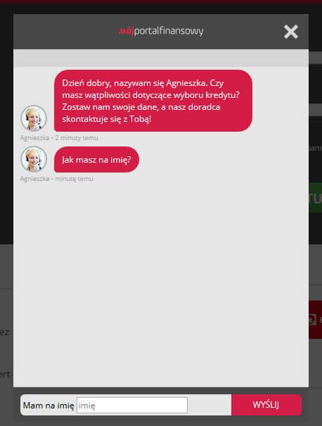 Zwiększenie konwersji landing page'a - Live chat