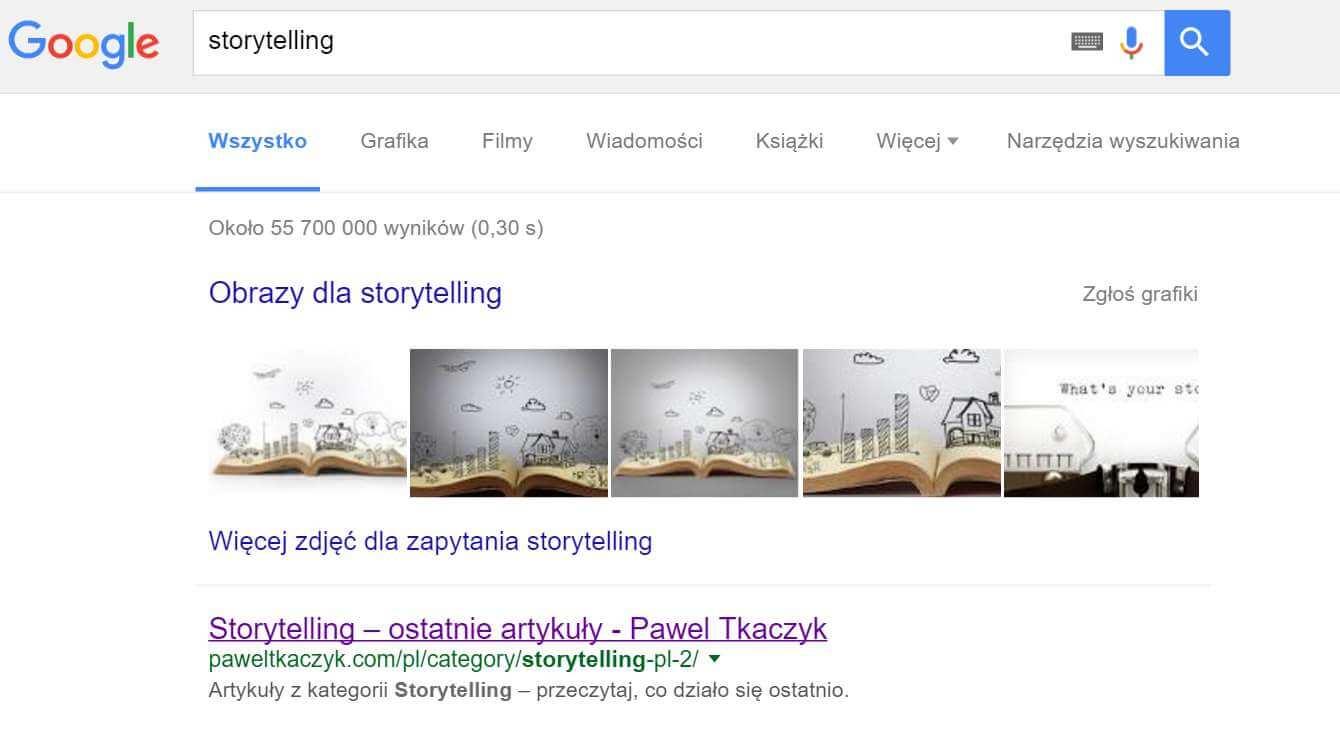 Storytelling - marka