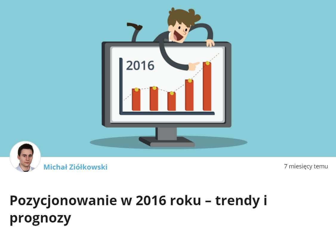Pozycjonowanie 2016 - MobileTry
