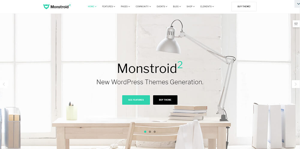 Motywy WordPress - Monstroid 2