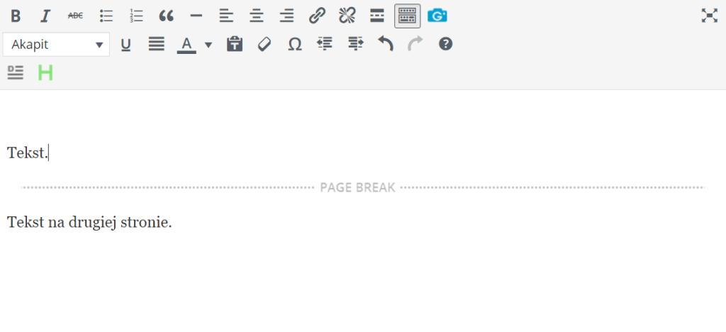 Paginacja wpisu w WordPressie
