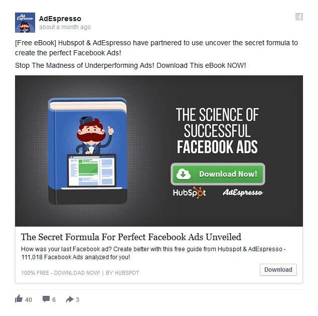 Partnerzy - pomysł na reklamę na Facebooku