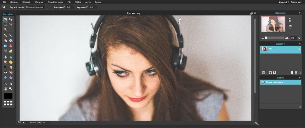 Pixlr Editor - narzędzia i blogerzy