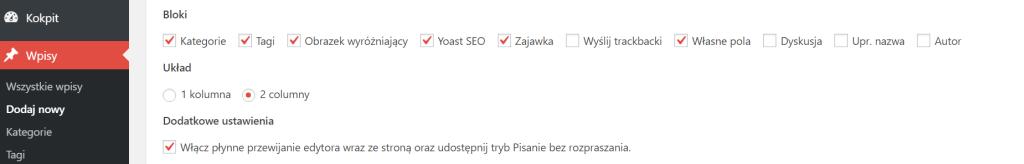 Płynne przewijanie w WordPressie