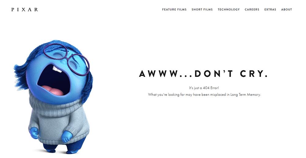 Postacie z bajki - strona błędu 404