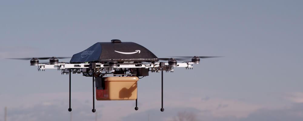 Przyszłość sklepów internetowych - dostawa dronem