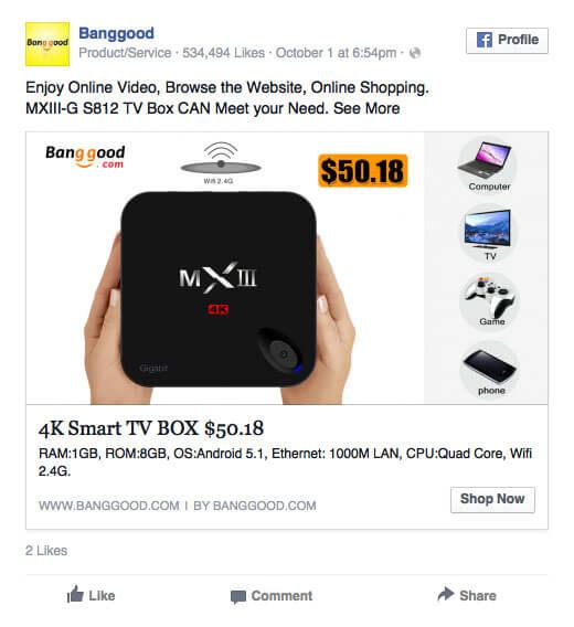 Reklama odtwarzacza multimedialnego