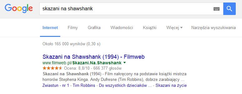Skazani na Shawshank - Google