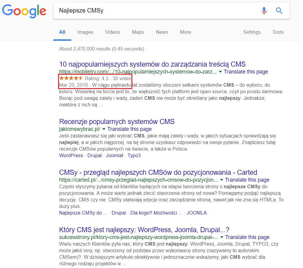 Jak poprawić CTR w wyszukiwarce?