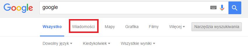 Wiadomości Google