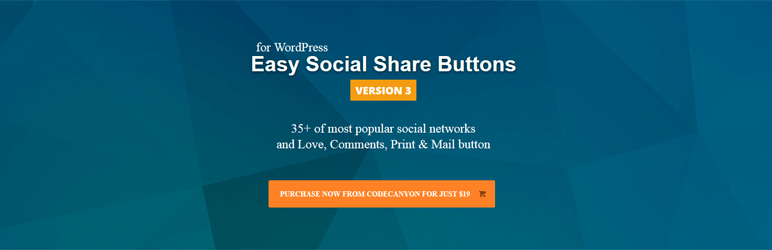 WordPress Easy Social Share Buttons plugin