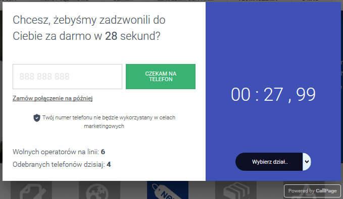 Pozyskiwanie leadów w internecie - wtyczka live kontaktu