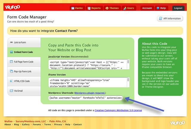 Najlepsze wtyczki WordPress - Wufuu Shortcode Plugin