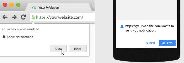 Zgoda na powiadomienia w WordPressie